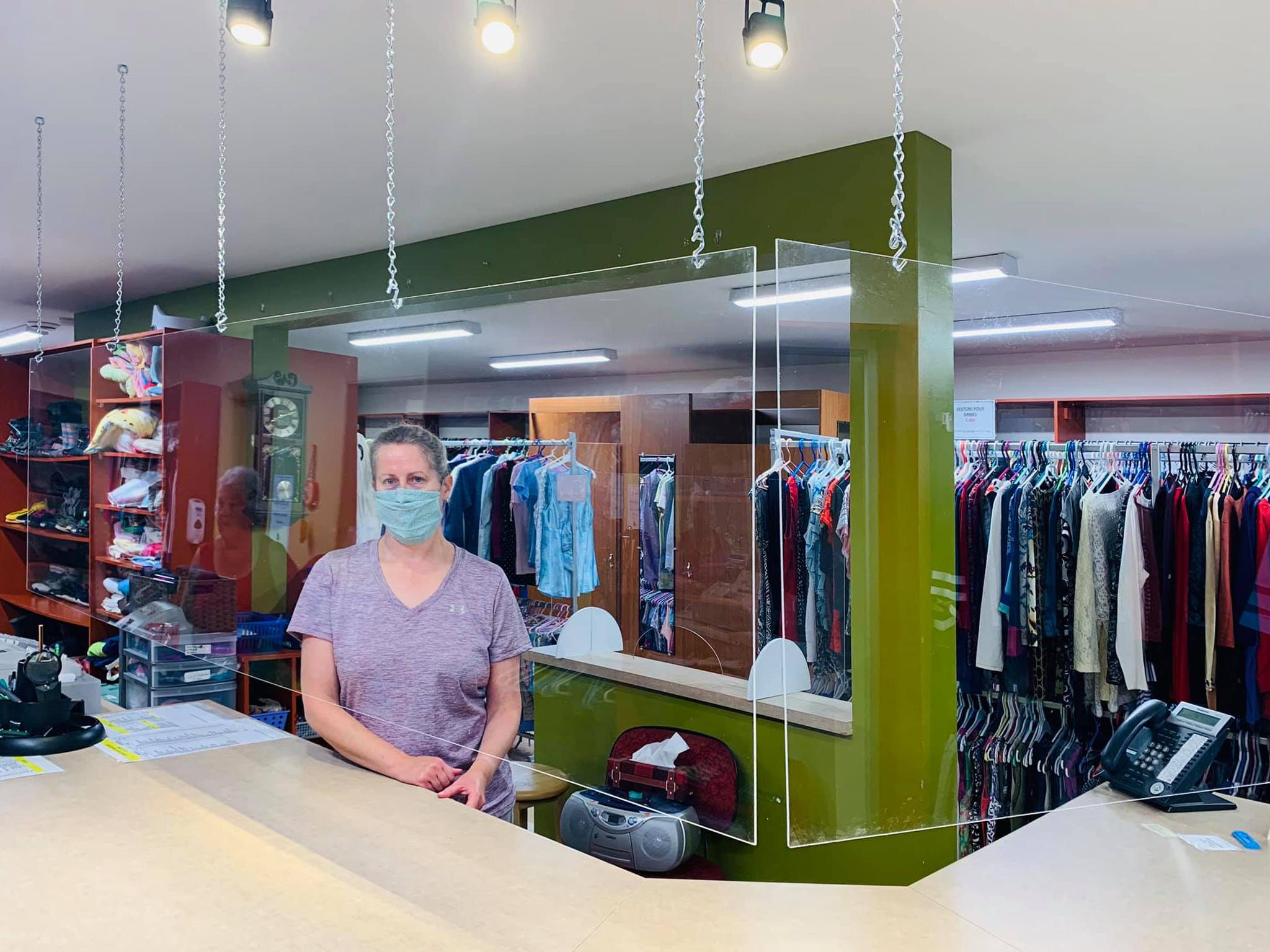 Fermeture temporaire du comptoir vestimentaire Le Baluchon